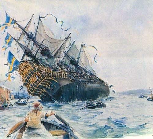 Гибель корабля Васа