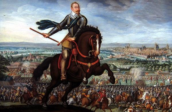 Король Швеции Густав II Адольф