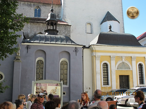 Музей-церковь с мумией графа