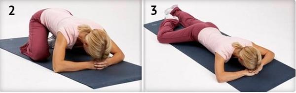 Упражнения йоги лежа