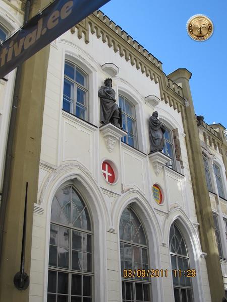 Здание Ганзейского союза в Таллине