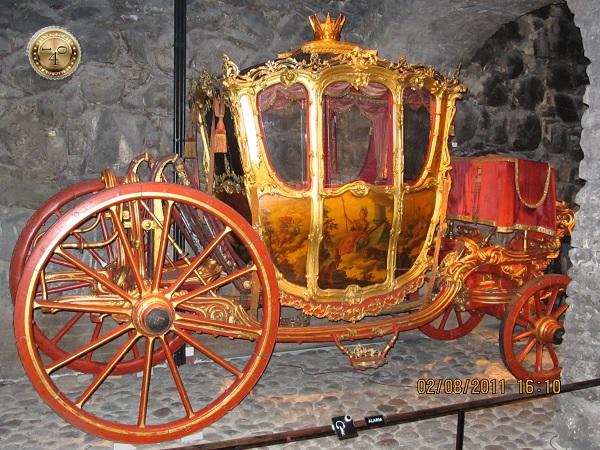 Шведская карета из Стокгольма