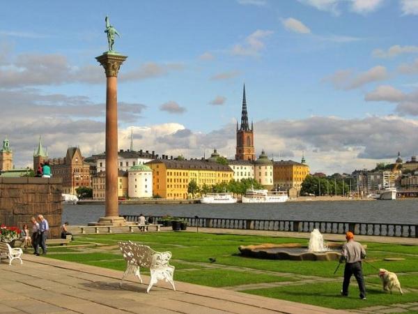 Колонна Энгельбрехта в Стокгольме
