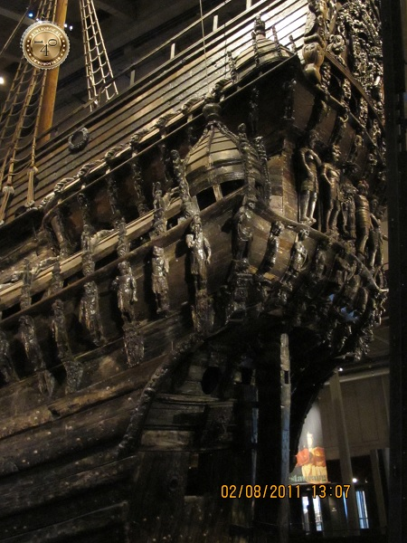 Корма корабля Васа