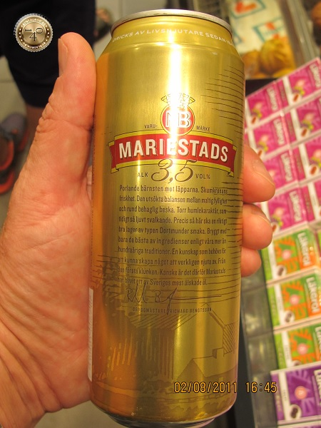 Шведское пиво Маристадс
