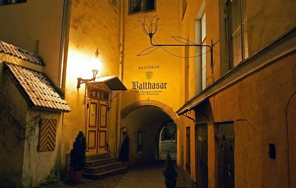 Ресторан Балтазар в Таллине
