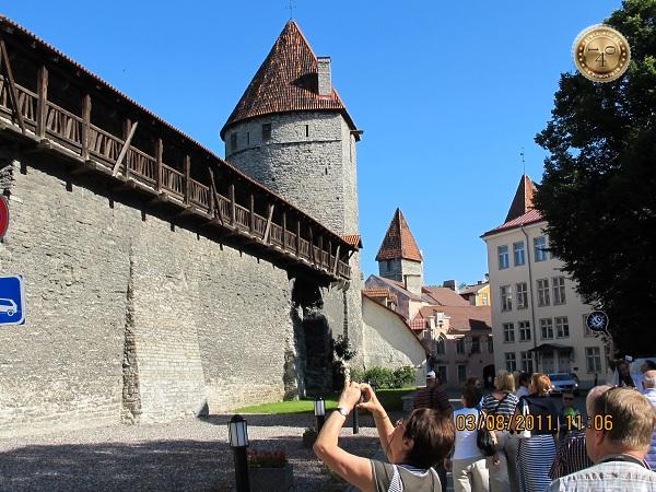 Крепостная стена в Таллине