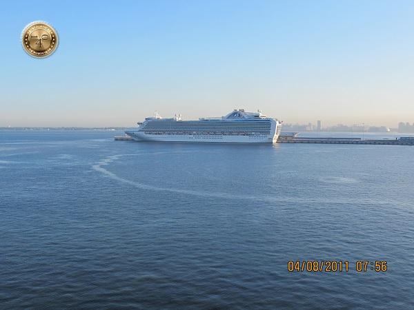 Прибытие в порт Санкт-Петербурга