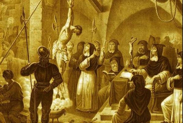 Торквемада допрашивает еретика