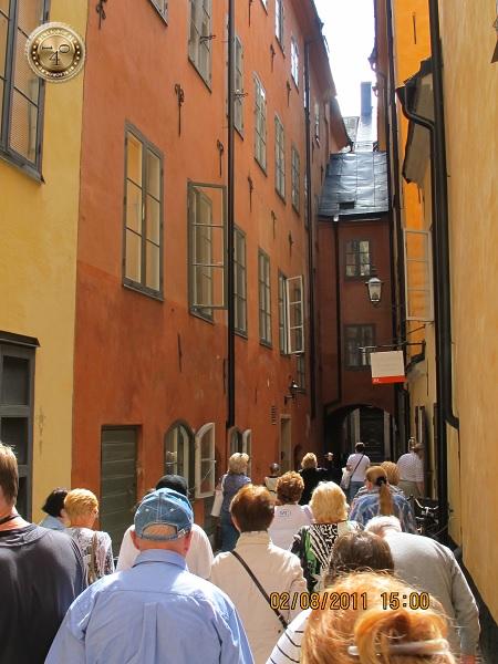 Не самая узкая улица Стокгольма