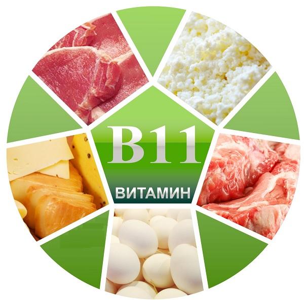 Продукты содержащие витамин В11