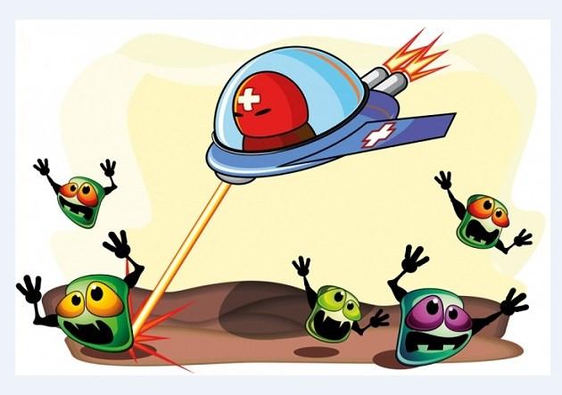 борьба с микробами