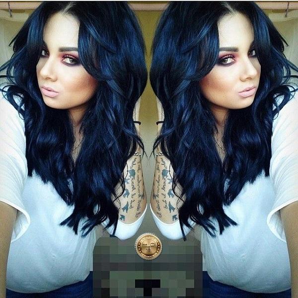 синеватый оттенок после окраски волос