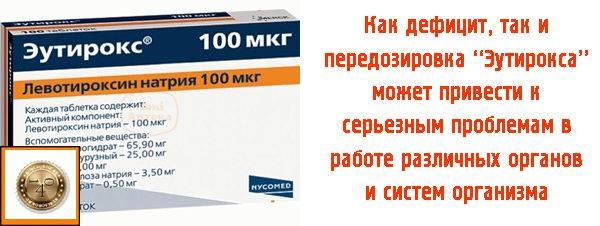 дозировка препарата эутирокс