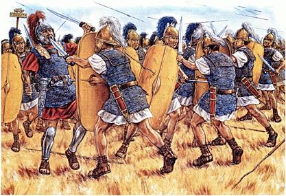 бой пехотинцев