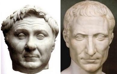 Помпей и Цезарь
