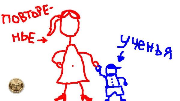 повторение - мать учения