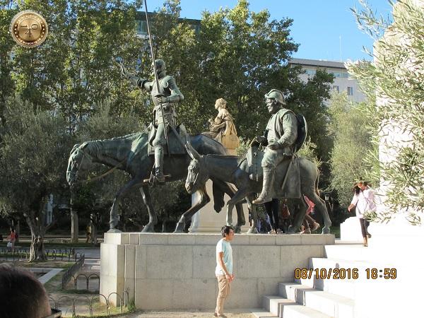 Дон Кихот и Санче Пансо
