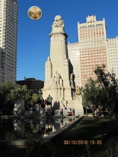 Монумент Сарвантесу