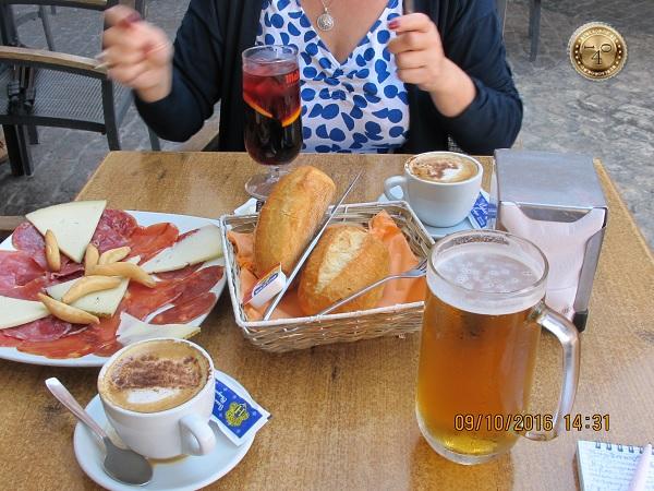 Обед на площади Майор