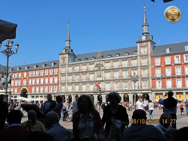 Площадь Майор. Мадрид