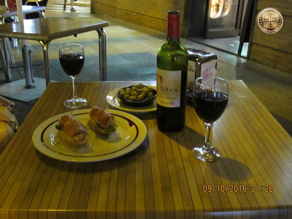 ужин в Лиззаране