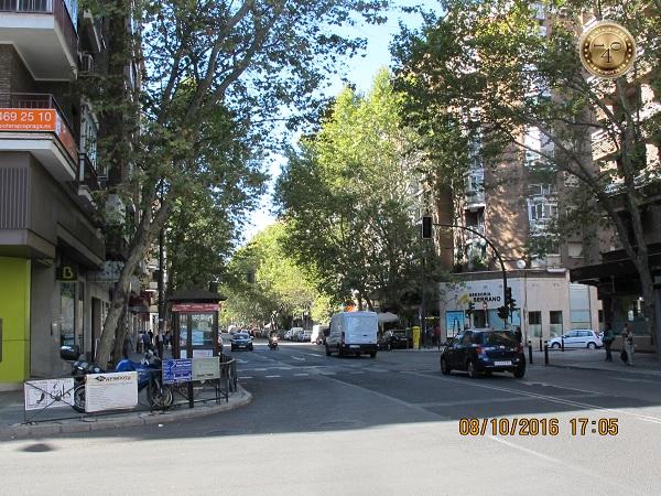 улица рядом с гостиницей