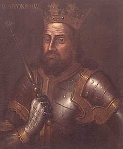 Король Португалии Альфонсо IV