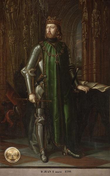 Король Португалии Хуан I Кастильский