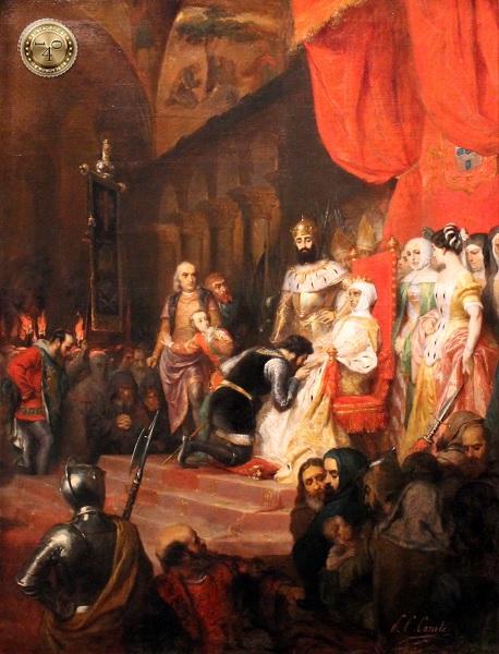 Присяга мертвой королеве Инес де Кастро