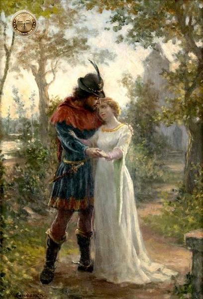 влюбленны Инес и Педру