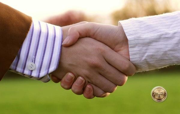 мирное рукопожатие