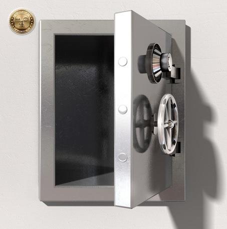 открытый сейф