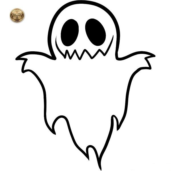 призрак в ночи