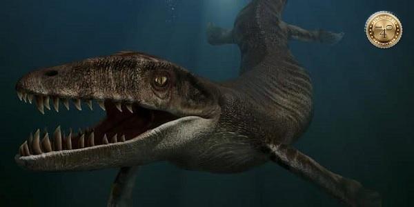 доисторический дракозавр