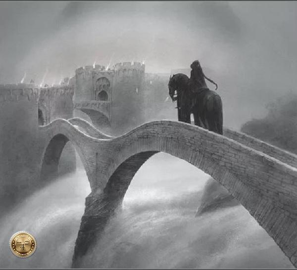 негодяй на мосте