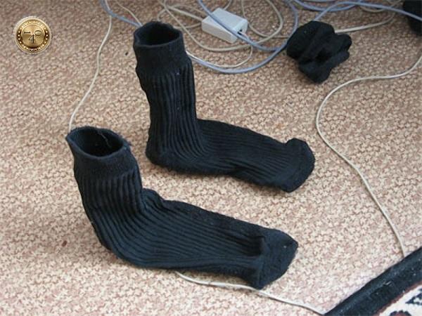 поношенные носки