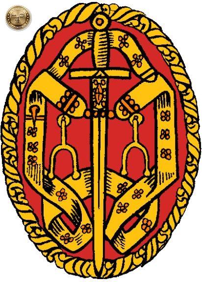 Знак английского рыцаря-бакалавра