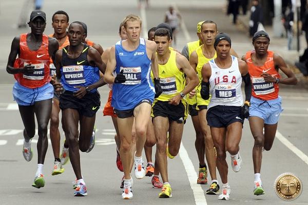 марафонцы