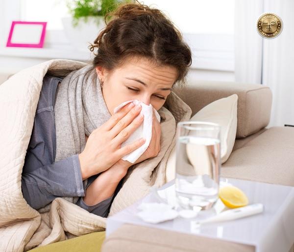 грипп с насморком
