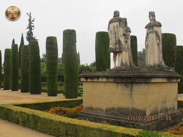 встреча Колумба с Фердинандом и Изабеллой