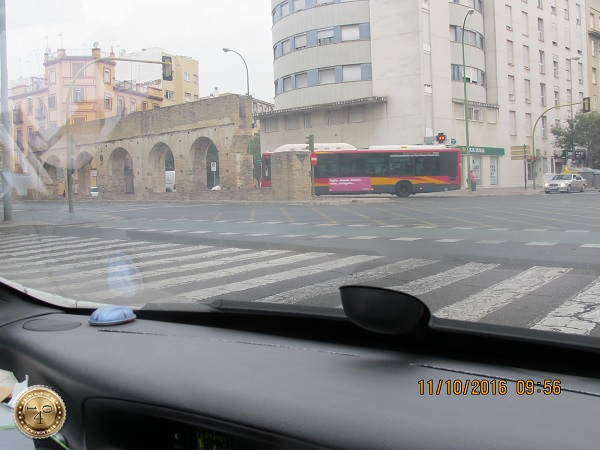 по дороге на вокзал Севильи
