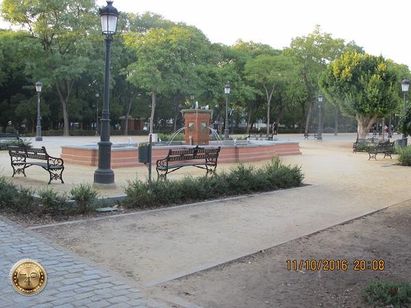"""бульвар рядом с гостиницей """"Pasarela"""" в Севилье"""