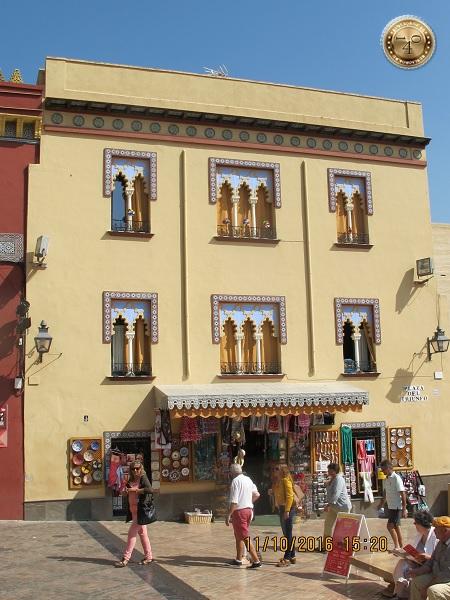 домик в арабском стиле в Кордобе