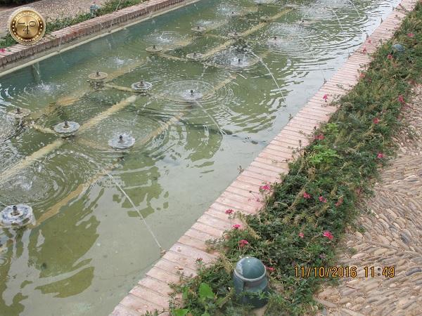 арабские фонтаны