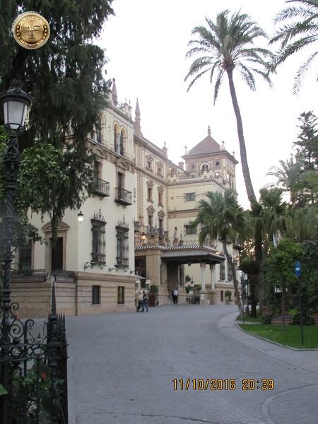 гостиница Альфонсо XII в Севилье