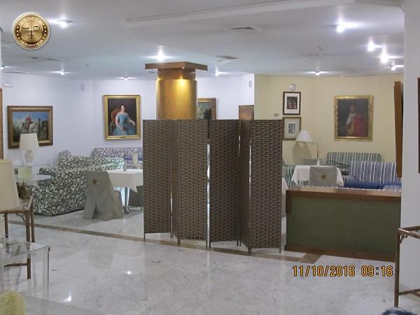 """холл гостиницы """"Pasarella"""" в Севилье"""