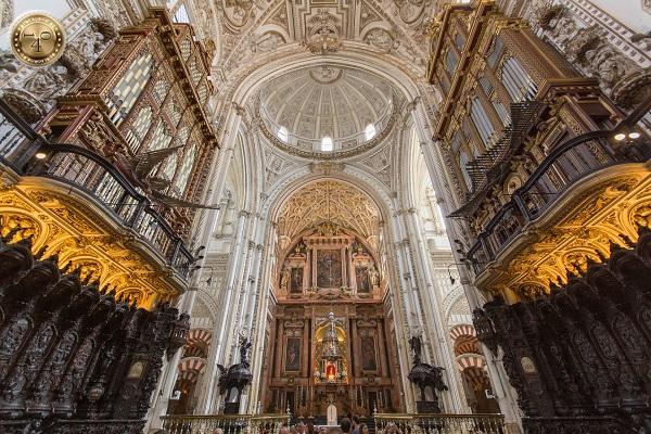 хоры Кафедрального собора в Меските