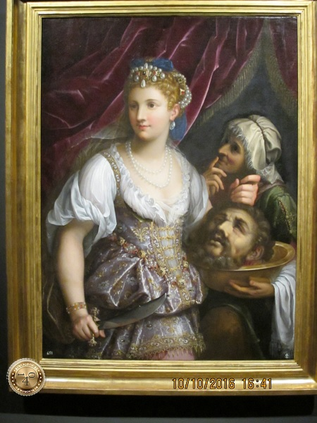 картина с головой Иоана Крестителя