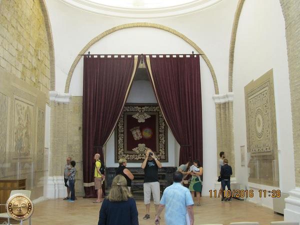 Зал мозаик в Алькасаре